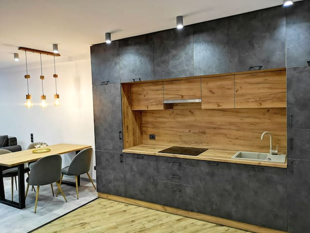 Super new comfortable apartment in loft art style