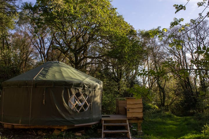 Killaha Glamping in Oak Tree Yurt. New for 2019!!