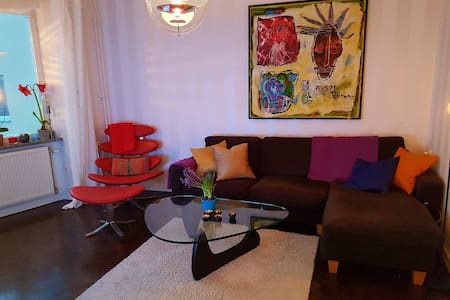 Nice flat in Sthlm C, close to Metro and buses - Stockholm