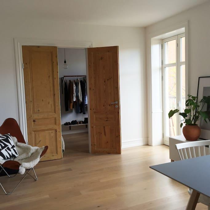 Living room - View towards bedroom 2