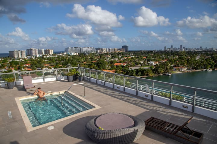 Modern & Stylish | 2 bdrm apartment | Rooftop pool