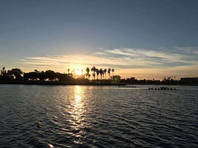 The Best Sunset In San Diego - San Diego - Bateau