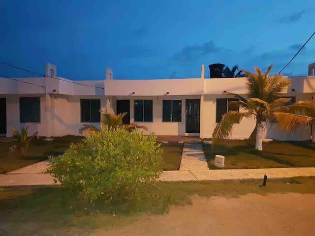 Apartamento en Tolu frente a la playa