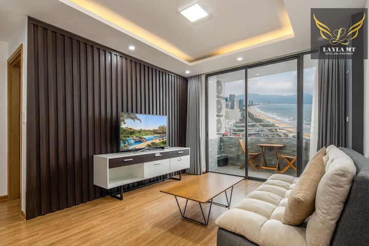 2BR【BALCONY SeaView 】MUONGTHANH Apartment (22th)