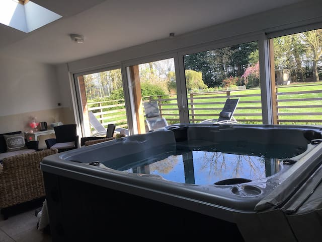Gite & spa 2 or 3 pers private jacuzzi and sauna - Bernay-en-Ponthieu - Lägenhet