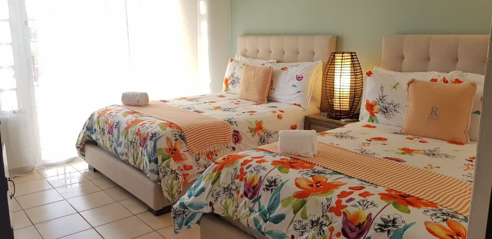 Guest bedroom (2 full size beds)