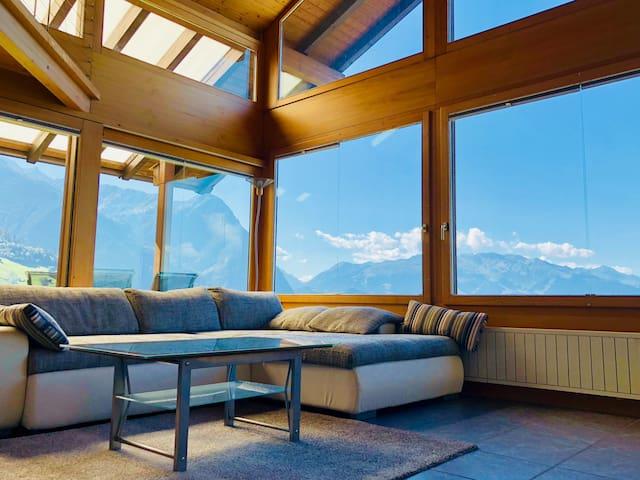 Wunderschöne private Loft in Triesenberg