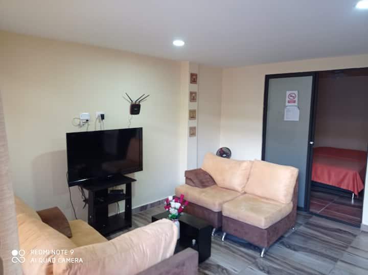 Apartamento amoblado y bien ubicado en Dos/das