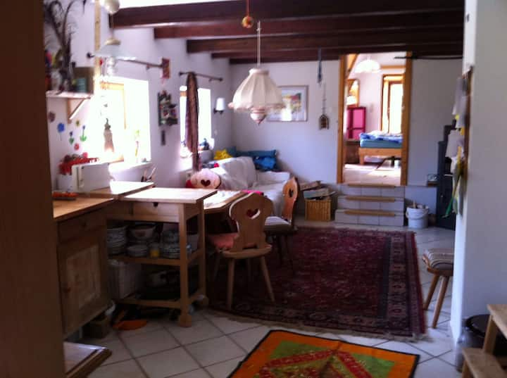 Cottage on little Eco Goat Farm im Pielachtal