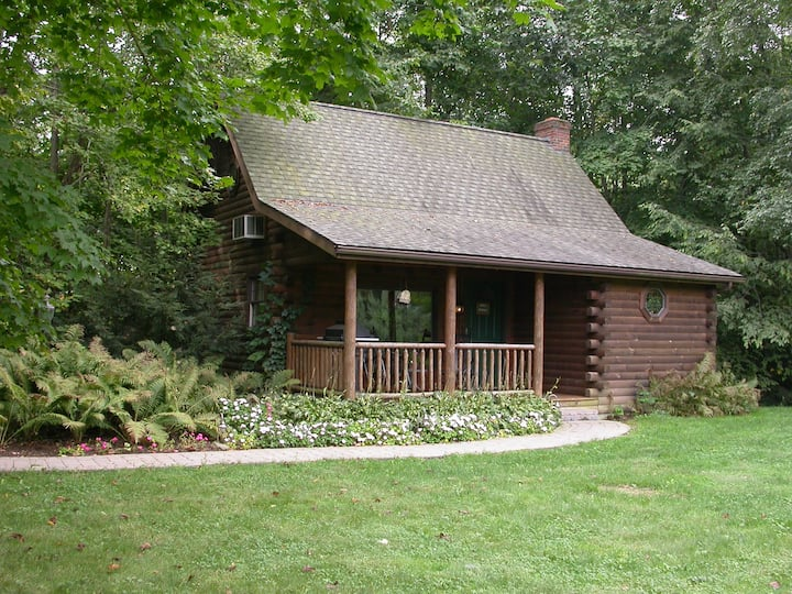 Apple Blossom - Secluded Cabin Getaway with Hot Tub, Kitchen, and Fireplace