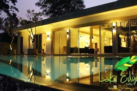 Lake edge villa, Bolgoda - Newdawa  - 別荘