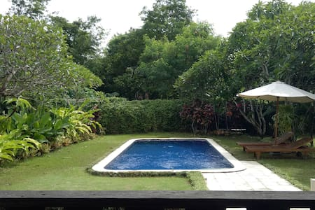 Lovely Private Bungalow (near Sanur Beach w/ pool)