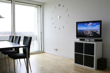 70 m2 on 7th floor with great view - Viby