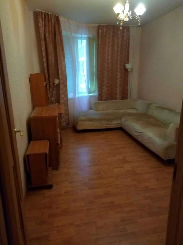 Квартира в видом на Полюстровский парк