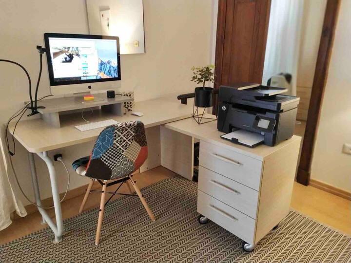Pace e relax in centro, smart working e comodità