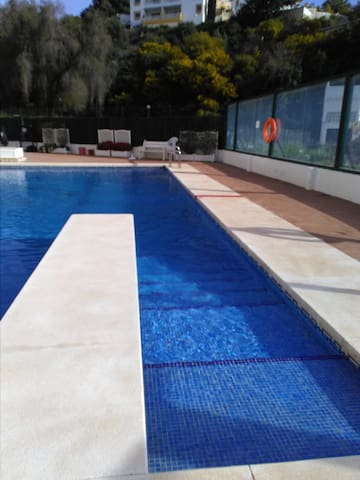 Lovely Studio.  Pool. SmartTv. International Tv - Fuengirola - Lejlighed