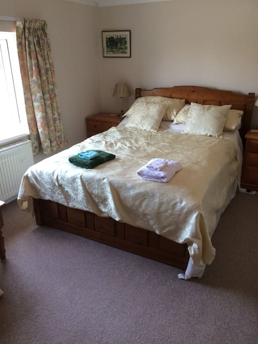 'Spacious room' - double bed