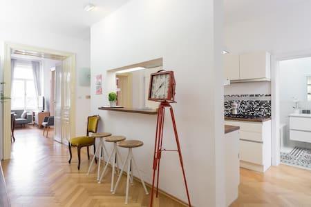 Big design flat near Schönbrunn, Meidling, U4/U6! - 维也纳 - 公寓