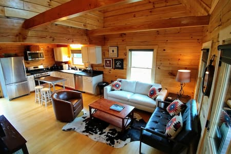 Longer stays $117/night-July/Aug, Huge Views&River