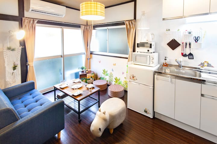 Japanese traditional home, easy access Every Tokyo