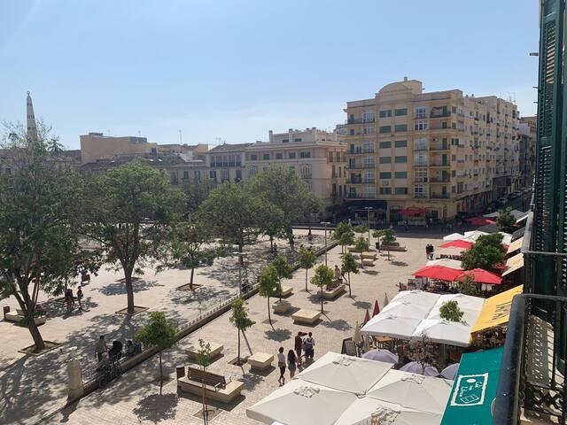 Habitación doble en Plaza de La Merced