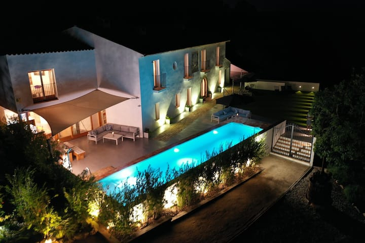 Villa in Vineyards. Wkends-Wkly-Monthly 10m Sitges