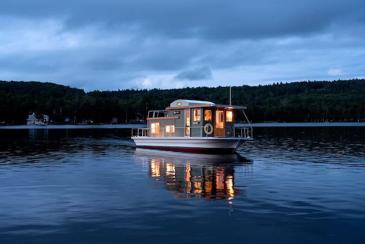 Floating Camp Nomad ~ Rangeley Lake Maine ~