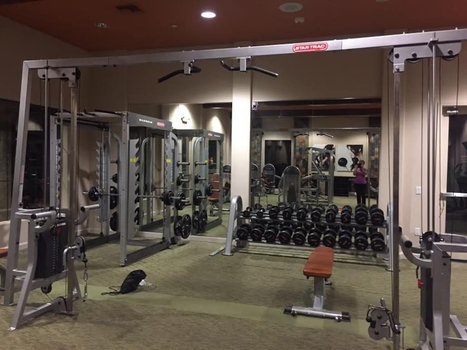 Access to Fitness Facility Open 24 hours.