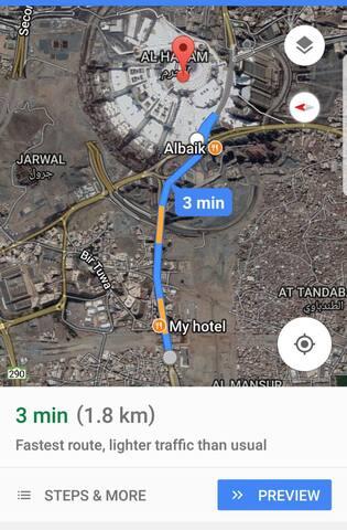 2 Bedroom apartment 10 mins walking to Kabbah