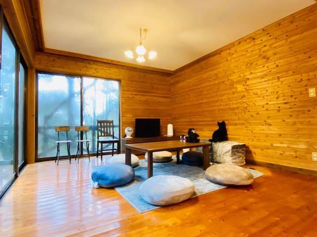 【1日1組貸切】Aso Lodge Otohime