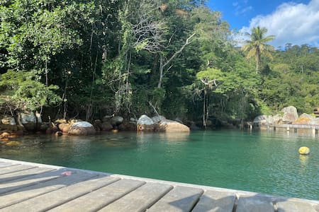 Casa Praia da Longa - Ilha Grande - Angra RJ