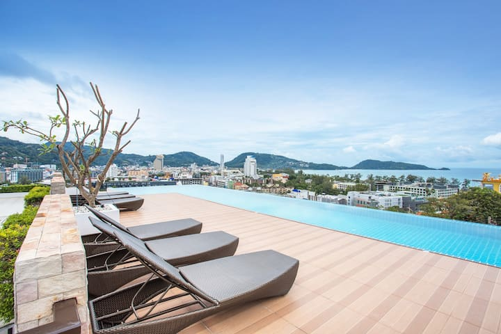 ❤️Amazing skypool in the heart of Patong❤️