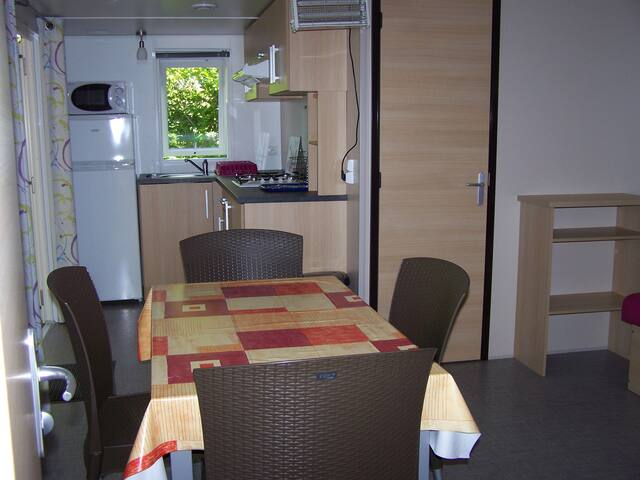 Mobil-home forme chalet - Arces - Xalet
