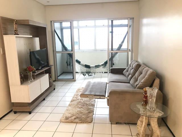 Apartamento em Fortaleza- CE, Bairro de Fátima