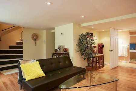 A semi- loft apart, open concept  - Lachine