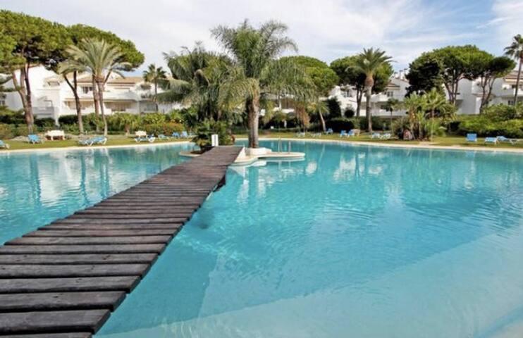 Cozy garden apartment for Luxury holidays