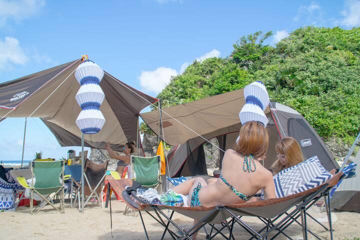 南国沖縄手ぶらで大自然キャンプ!! - Yomitan-son - เต็นท์