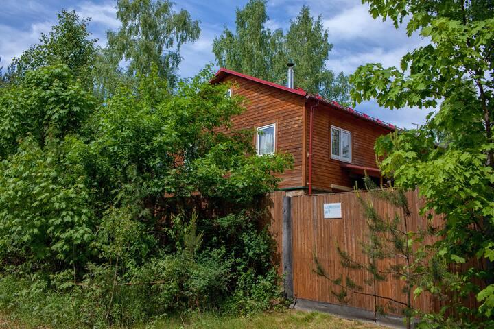 Уютный дом-коттедж в Орехово, ст. 67 км
