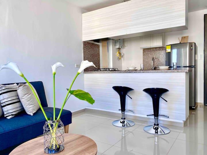 Hermoso apartamento en Viverdi 84