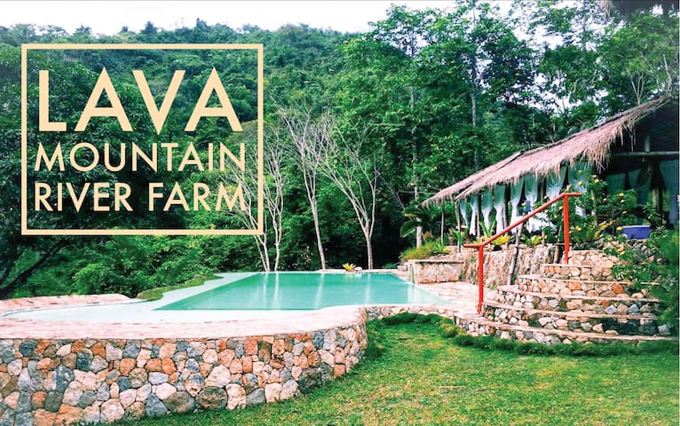 Mountain Resort Infinity Pool Native Villas Farm Stays For Rent In Ph Philippines
