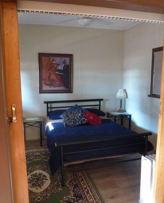 Main bedroom,           quaint & cosy