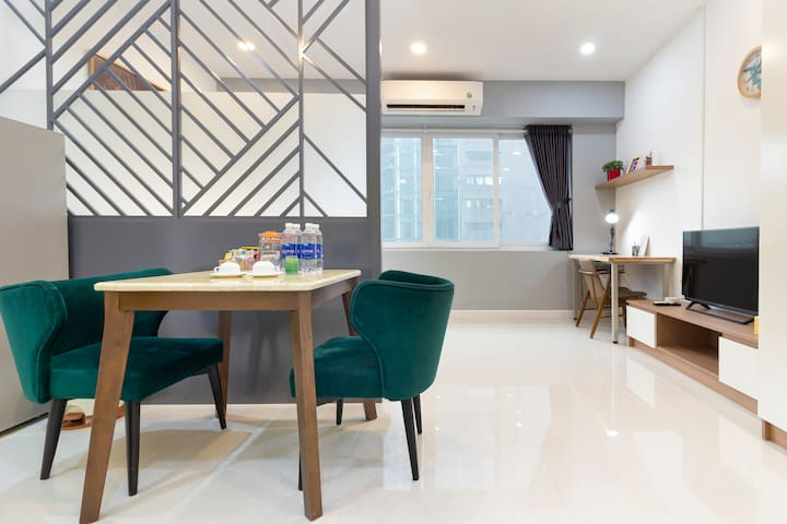 fine Apartment at 5fl in Nguyen Hue walking street