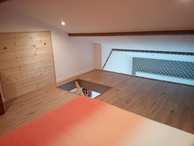 Charmant Loft avec mezzanine proche Puy du Fou