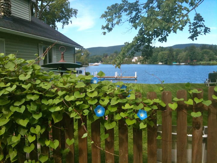Lake Front Cozy Cottage in the The Berkshires