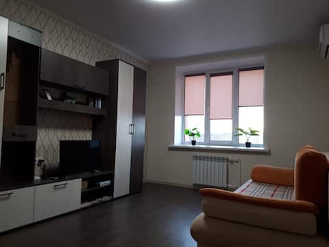 Apartment in the center in a new house with good renovation