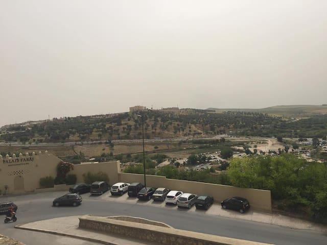 Appartement style Riad avec vue panoramique - Fez - Apartamento