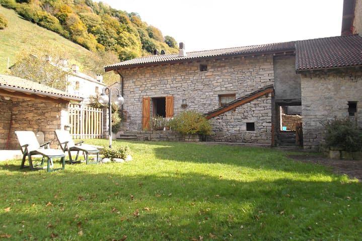 House Baita in Val d'Intelvi