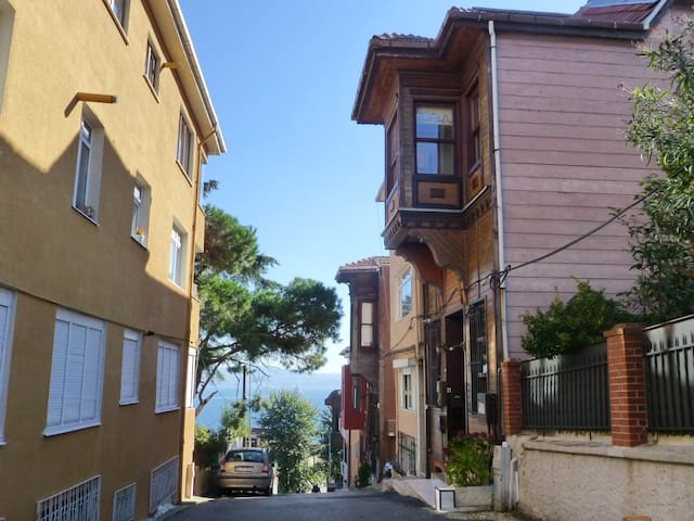 guesthouse on the Bosporus.