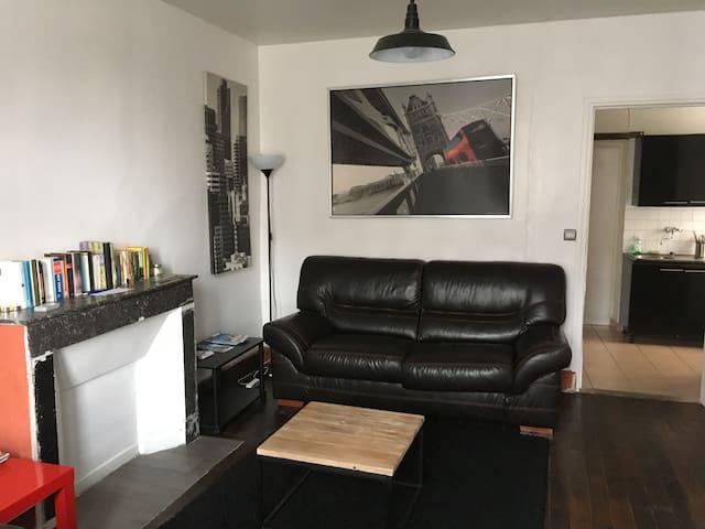 appartement entier spacieux RDC