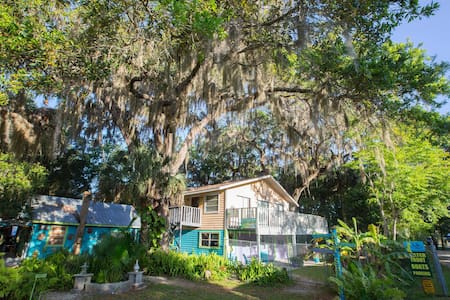 Treehouse, Old Homosassa / On River - Homosassa - Tretopphus